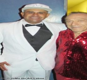Mc Magic and Art Laboe together again