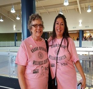 Walk for the Cure at the Wellness Center