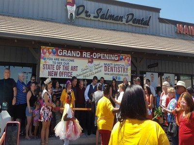 Dr Salman Re Grand Opening in Barstow